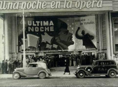 Antigua imagen del Cine Capitol en Gran Vía nº 41
