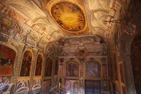 Escalera principal del Monasterio de las Descalzas Reales.