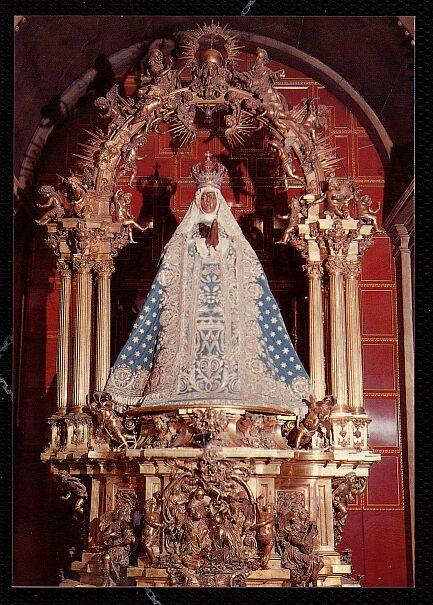 Virgen del Sagrario de Toledo. Foto Archivo Oronoz