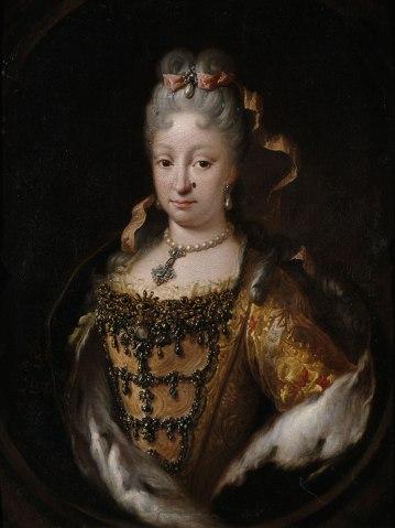 Miguel Jacinto Meléndez: Isabel de Farnsio. Biblioteca Nacional de España, Madrid.