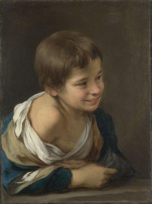 Bartolomé Esteban Murillo: Niño asomado a la ventana. National Gallery, Londres.