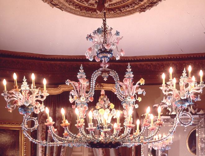 Lámpara veneciana, 1880. Museo Cerralbo, Madrid.