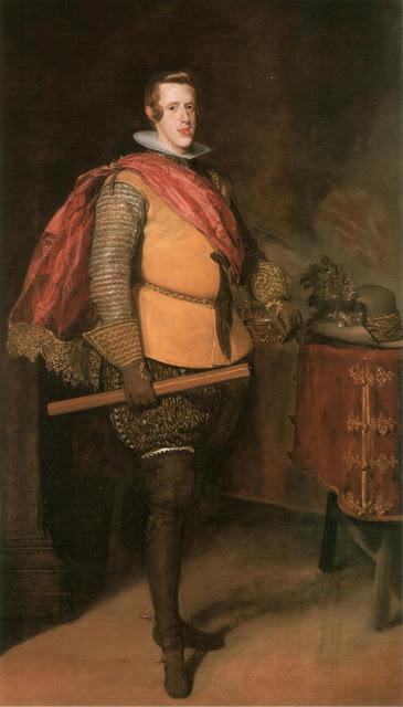 Diego Velázquez: Retrato de Felipe IV vestido de militar. Colección particular.