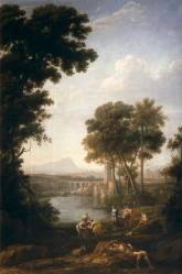 Claudio de Lorena: Moisés salvado de la aguas. Museo Nacional del Prado, Madrid.