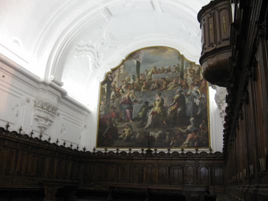 Luca Giordano: Bodas de Canaa. Refectorio de la Catuja de San Martino, Nápoles.