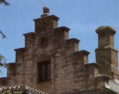 Cubiertas de la Casa del Rey, La Fresneda.
