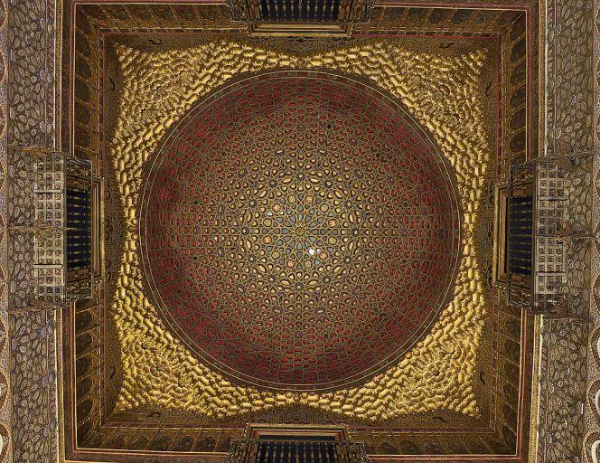 Reales Alcázares de Sevilla, Cúpula del Salón de Embajadores.