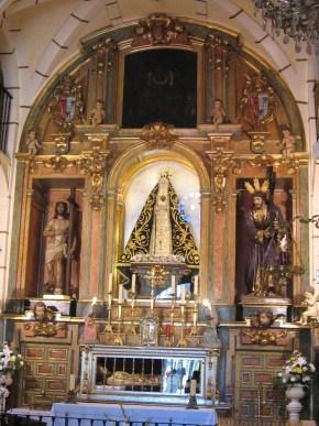 Capilla de la Virgen de la Soledad de Parla.