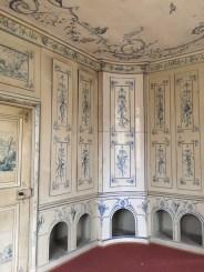Sala para guardar las escopetas y alojar a los perros de caza del Amalienburg.
