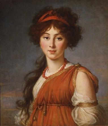 Elisabeth Louise Vigée Le Brun: Varvara Ivanovna Ladomirskaya, 1800. Columbus Museum of Art, Ohio, Museum Purchase, Derby Fund