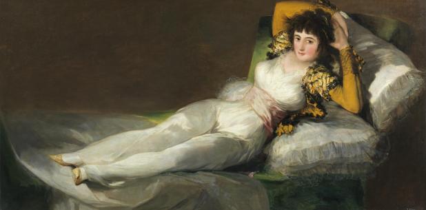 Francisco de Goya: La maja vestida. Museo del Prado