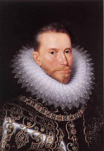 Frans Pourbus el joven: Retrato del Archiduque Alberto. Groeningemuseum.