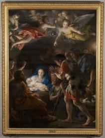 Anton Rafael Mengs: La Adoración de los Pastores. Museo Nacional del Prado.