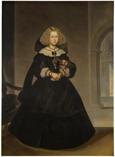 Frans Luycks: Mariana de Austria. Madrid, Museo Nacional del Prado.