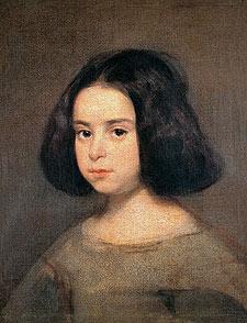 Diego Velázquez: Retrato de Niña. Nueva York, Hispanic Society.