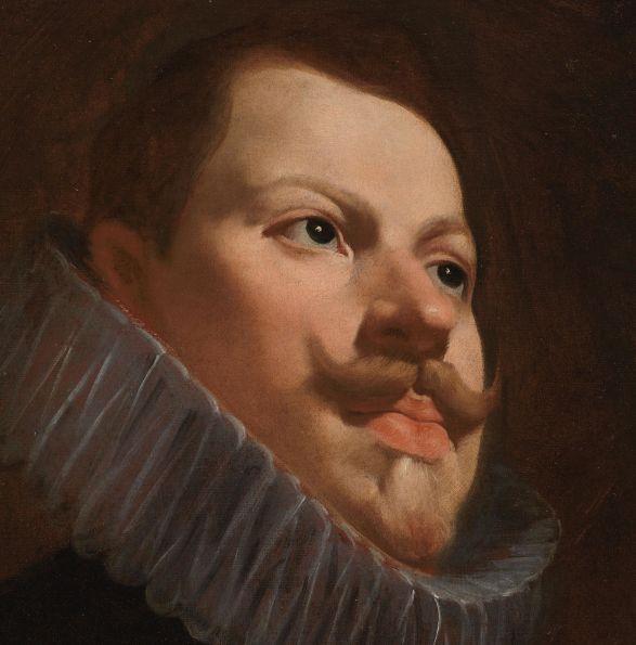 Atribuido a Diego Velázquez: Retrato de Felipe II. Madrid, Museo Nacional del Prado.