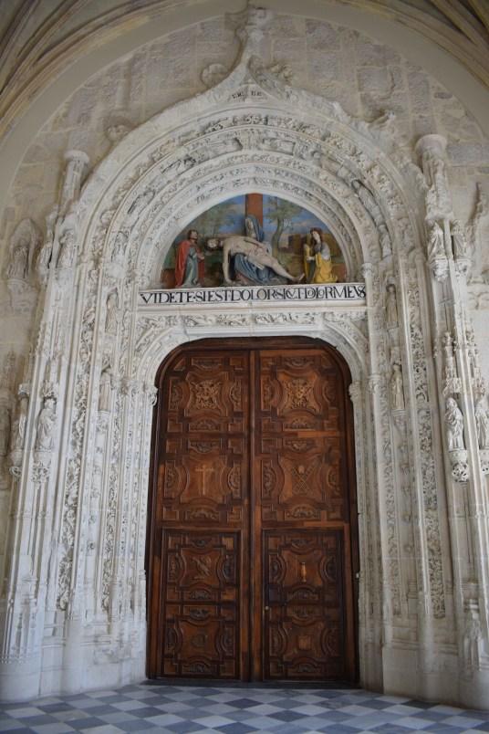 Portada gótica de la Iglesia. Juan Guas.