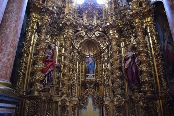 Retablo Capilla del Rosario. Cartuja del Paular