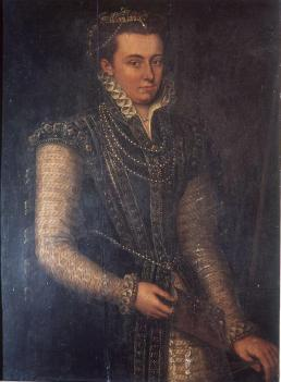 Lavinia Fontana: Autorretrato. Florencia, Palazzo Pitti.
