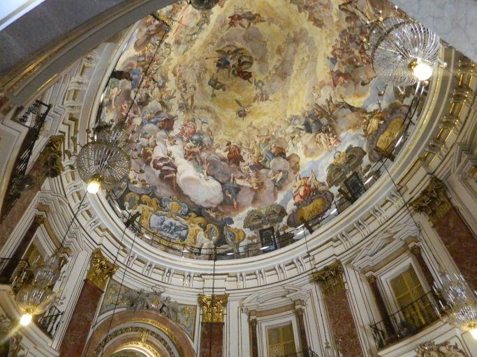 Antonio Palomino: Cúpula de la Basílica de la Virgen de los Desamparados de Valencia. Foto: Wikimedia Commons.