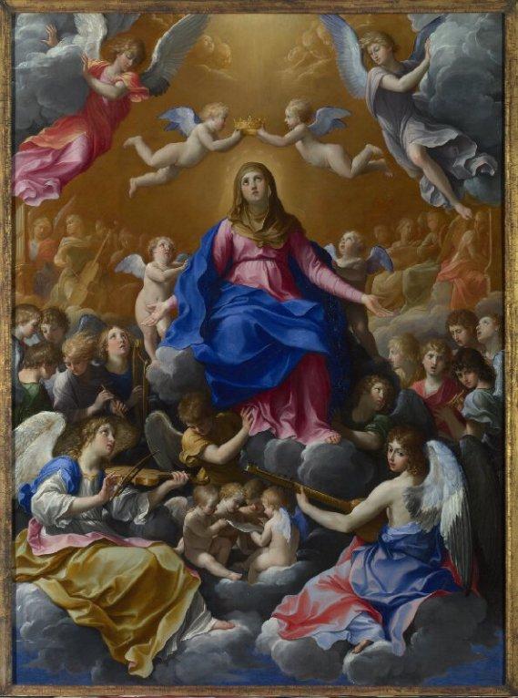 Guido Reni. Coronación de la Virgen. National Gallery. Londres.