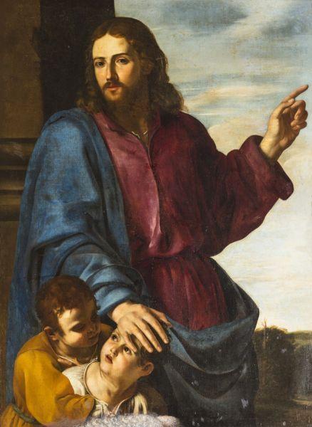 Cristo Bendiciendo. Arciconfraternità dei Santi Ambrogio e Carlo in Roma.