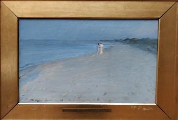 P.S. Krøyer: Tarde de verano en la playa de Skagen, 1893. Copenhague, Den Hirschsprungske Samling. Foto: Investigart.