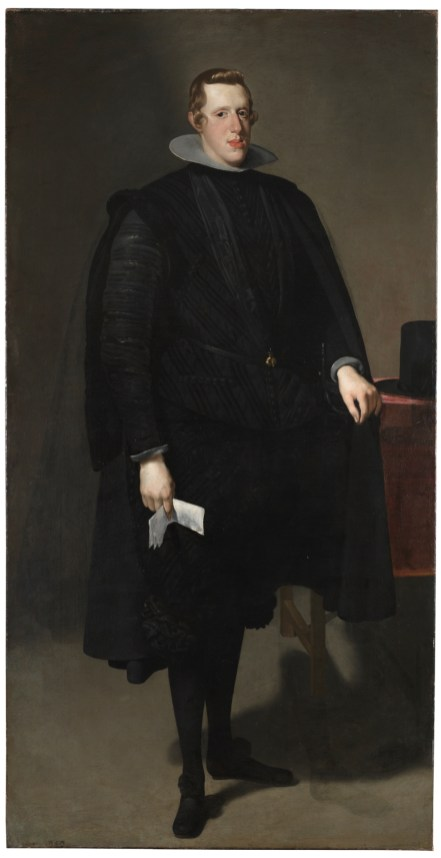 Diego Velázquez: Felipe IV. 1628. Madrid, Museo Nacional del Prado.