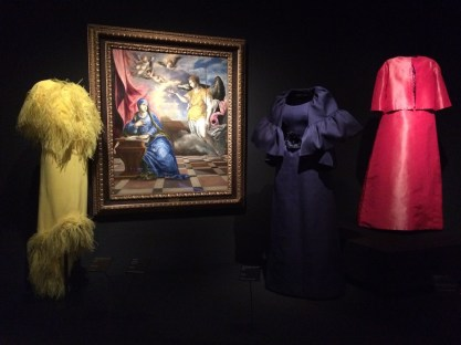 Balenciaga y la Anunciación del Greco