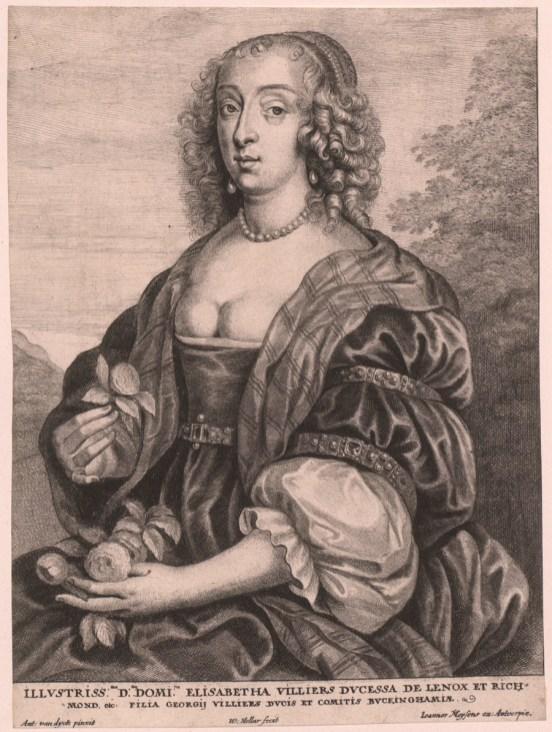 Van Dyck: Retrato de Mary Lennox, ca. 1630.