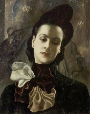 Anna Zinkeisen: The Dark Lady, 1938.