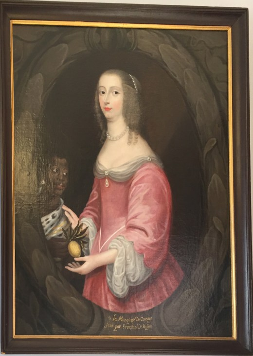 Ernestine de Nassau: Retrato de Anna Gonzaga, Marquesa de Consagne. Palacio Lobkowicz, Praga.