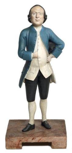 Chitqua: Thomas Todd, ca. 1700. Arcilla. Museum of London.