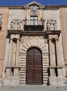 Pórtico del Palacio Arzobispal de Toledo, Alonso de Covarrubias, Hernán González de Lara, ca. 1544 (Wikimedia)