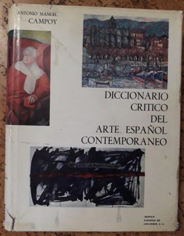 Diccionario crístico del Arte Español Contemporáneo