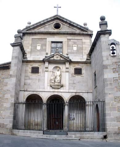 Convento de San José, Francisco de Mora, ca. 1607. Foto: Wikimedia Commons.
