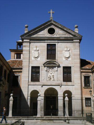 Iglesia del monasterio de la Encarnación, fray Alberto de la Madre de Dios. Foto: Wikimedia Commons.