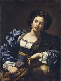 Virginia da Vezzo o Simon Vouet, Judith, ca. 1625. Alte Pinakothek, Munich. Foto: wikipedia.