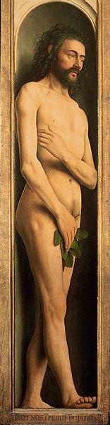 Van Eyck: Adán.