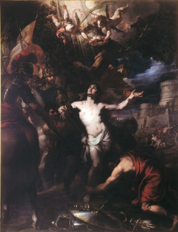Sebastián Muñoz: Martirio de San Sebastián, ca. 1687. Museo Goya de Castres, Francia.