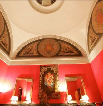 Sala de escudos del CEPC. Fuente: cepc.gob.es