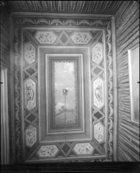 V. Moreno, Techo del antiguo Ministerio de Marina, «salita pequeña», hacia 1929, IPCE, Archivo Moreno, inv. 03957_C. Fuente: ipce.culturaydeporte.gob.es