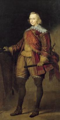 Copia de Van Dyck, Cardenal-Infante don Fernando, siglo XVII. Madrid, Real Academia de Bellas Artes de San Fernando.