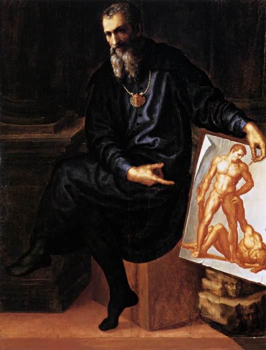 Baccio Bandinelli, Autoretrato, ca. 1530. Boston, Isabella Stewart Gardner Museum.