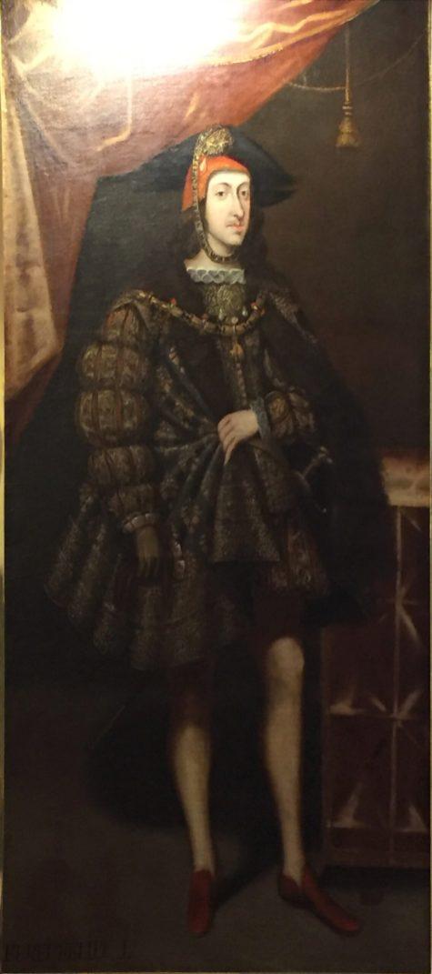 Joan Arnau?, Felipe I, 1678. Paeria de Cervera. Foto: Investigart.