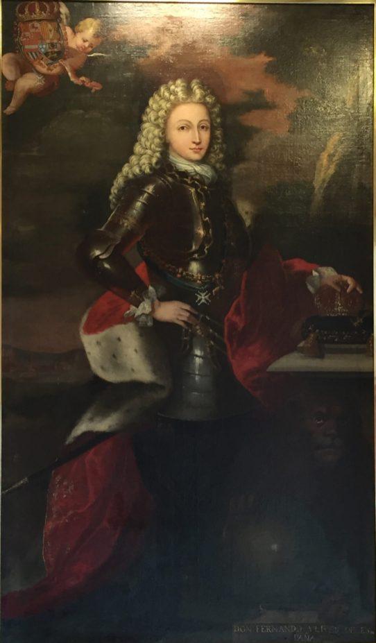 Anónimo, Fernando VI, ca. 1746. Paeria de Cervera. Foto. Investigart.