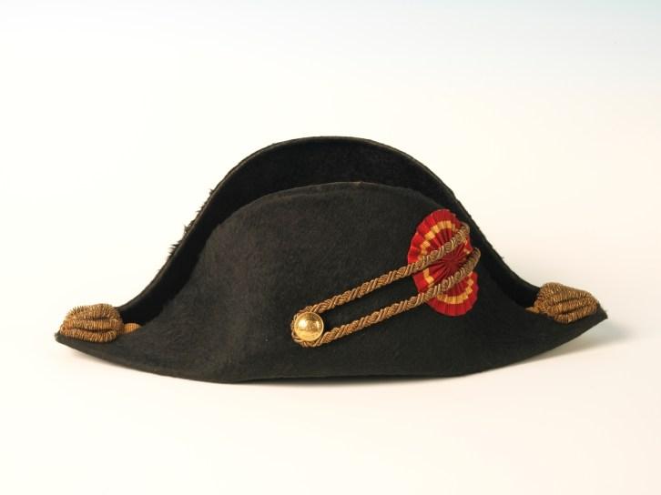 Sombrero de gala Finales del siglo XIX©Museo Nacional del Prado