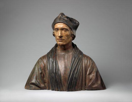 Pietro Torrigiano. Retrato del obispo John Fisher. 1510-1515. Metropolitan Museum. Nueva York.