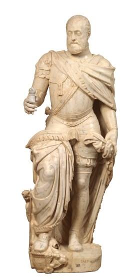 Leone y Pompeo Leoni. Carlos V. Museo del Prado.