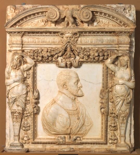 Leone Leoni. El emperador Carlos V. ca. 1550-1555. Museo del Prado.